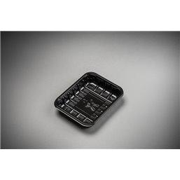 Meat Tray KS 25 L Black Apet 126x103x25mm