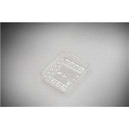 Meat Tray KS 25 L Transparent Apet 126x103x25mm