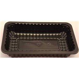 Meat Tray FT 3s / 45 Black Apet 243x180x45mm