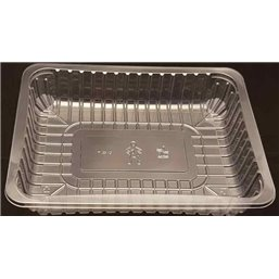 Meat Tray FT 3s / 45 Transparent Apet 243x180x45mm