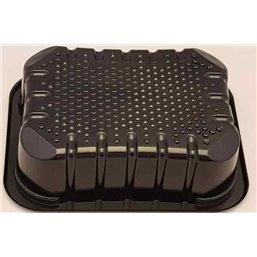 Meat Tray FT 50 / 45 Capillair Black Apet 160x120x45mm