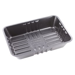 Bami/Nasi Tray Black A50-30 750cc 204x144x39mm (Small package)