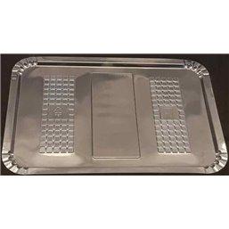 Vleeswarenschaaltjes 160 x 220mm Ruit Transparant Plastic Hero
