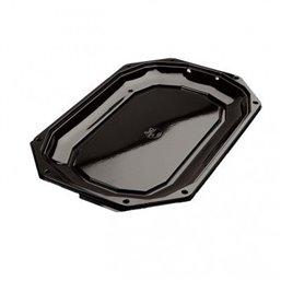 Catering platters - trays Black CS 430-280 430x280mm (click platter)