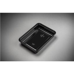 Maaltijdbakken 500cc Microwave ~ Freeze Zwart 183 x 135 x 35mm