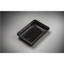 Maaltijdbakken 500cc Light* Zwart 183 x 135 x 35mm