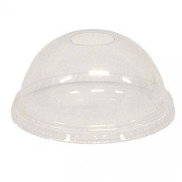 Dome Lids With Hole APET Ø 92mm