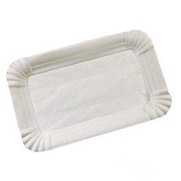 Meat Platter Cardboard White Lined Duplex 10x16cm