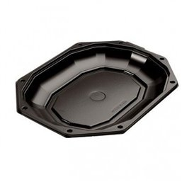 Catering platters - trays Black CS 295-190 295x190mm (click platter)