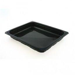 1/2 Gastro tray PP Black 22mm
