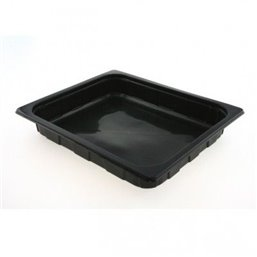 1/2 Gastro tray PP Black 50mm