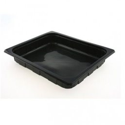 1/2 Gastro tray PP Black 60mm