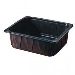1/2 Gastro tray PP Black 100mm