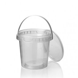 Ringlock Cups - containers With seal closure + Lid + Handle 600cc
