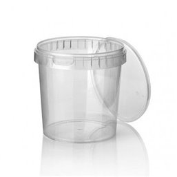 Ringlock Cups - containers With seal closure + Lid 1180cc