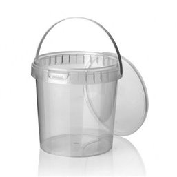 Ringlock Cups - containers With seal closure + Lid + Handle 1180cc