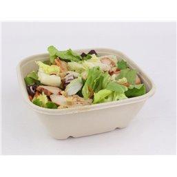 Salad Bowl Square Bepulp 17x17x7cm