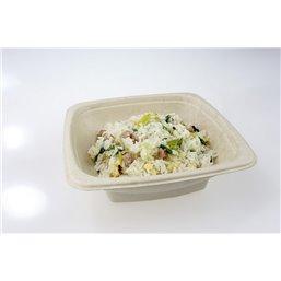 Square Meal Bin Bepulp 18x18x5cm