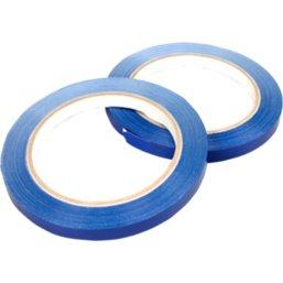 Tape Zakkensluiter Blauw 66 meter x 9mm