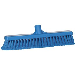 Hall sweeper Split fiber Vikan 400mm Blue