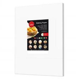 Baking Paper Sheets White 40x60cm In Dispenser box