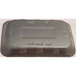 Foam trays 73-25 With Absorption Black 218x135x25mm