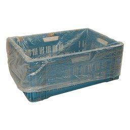 Crate bags 60-40x80cm Blue 25my