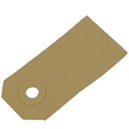 Price tags Cardboard Brown 90x44mm