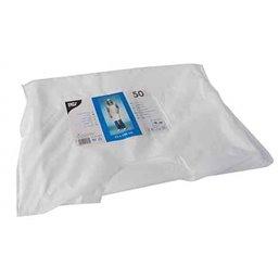 Apron Disposable 60my 110x75cm White Papstar
