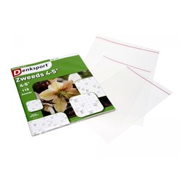 Transparent Shipping Envelope PP 165x220mm With Flap 50mm with of Self-adhesive Strip 40my