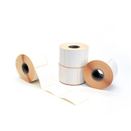 Thermo Scale Labels Permanent Freeze-proof Outside Wrapper Core 40mm 60x49mm (1000 Per Roll)