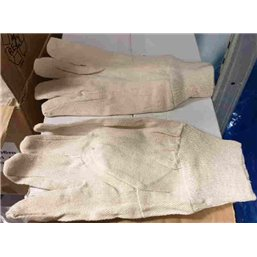 Gloves Twill Tricot 100% Cotton