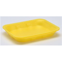 Foam trays Tainers  70-25 yellow
