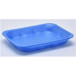 Foam trays Tainers  70-25 blue