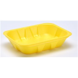 Foam trays Tainers  70-40 yellow