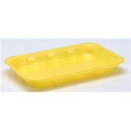 Foam trays Tainers  73-25 yellow