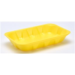 Foam trays Tainers  73-40 yellow