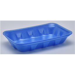 Foam trays Tainers  73-40 blue