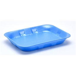 Foam trays VAMPIRELLA with absorption 70-25 blue
