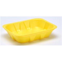 Foam trays VAMPIRELLA with absorption 70-40 yellow