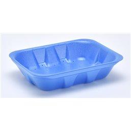 Foam trays VAMPIRELLA with absorption 70-40 blue