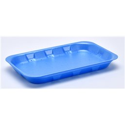 Foam trays VAMPIRELLA with absorption 73-25 blue