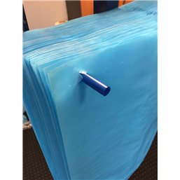 Blauwe Kratzakken Op Stift 580 + 2 x 220 x 530mm 20my