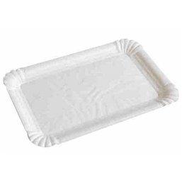 Vleeswarenschaaltjes Karton Wit Gevoerd Duplex 120 x 180mm