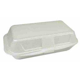 Menu Box Eggroll Box White XPS IP10 240 x 133 x 75mm