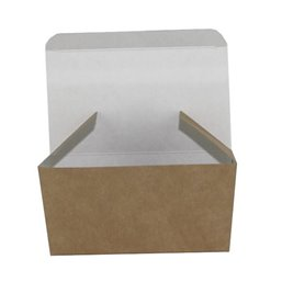 Chicken nuggets Bakje Brown White Cardboard 100 x 60 x 50mm