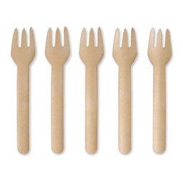 "Forks paper 159mm, Brown ""100% FAIR"""