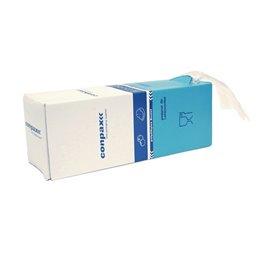 Poly- Zakken met Zijvouw LDPE 10 x 2,5 x 25cm 20my