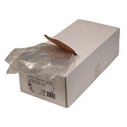 Poly- Zakken met Zijvouw LDPE 14 x 4 x 26cm 20my