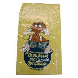 Potato Bags Yellow LDPE 26x43cm
